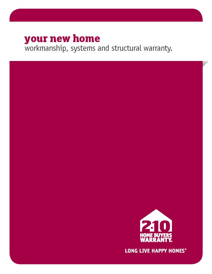 210 Home Buyers Warranty