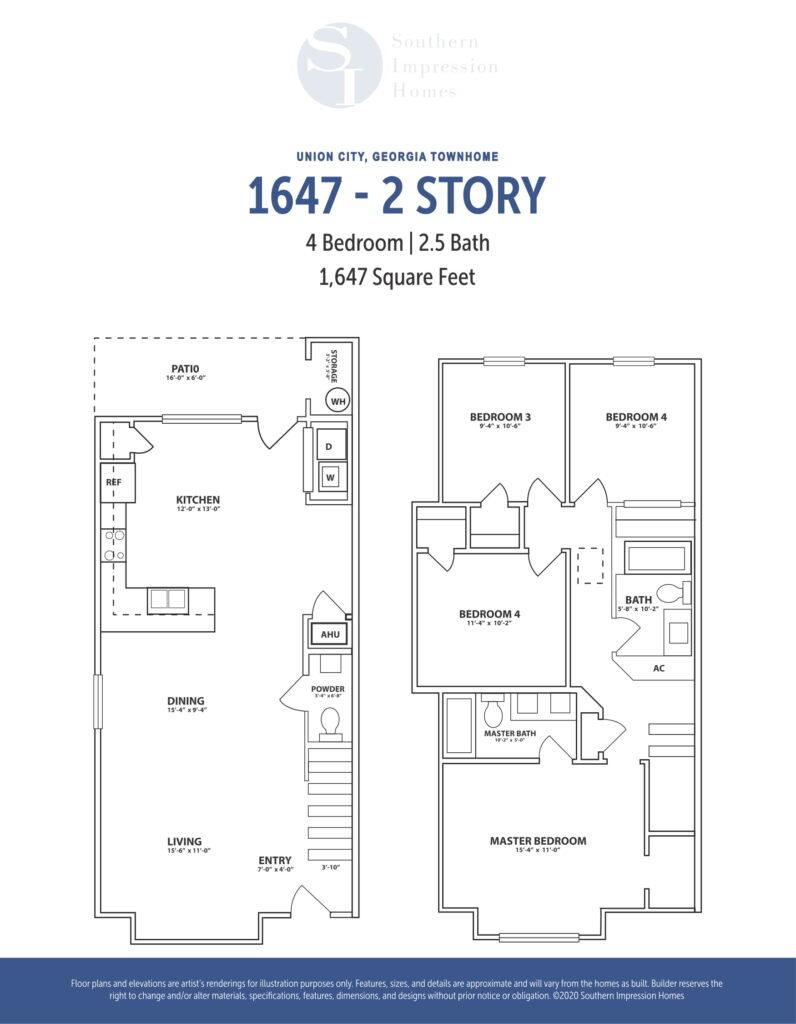1647 floor plan